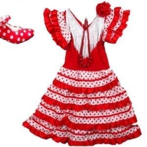 Flamenco girl dress