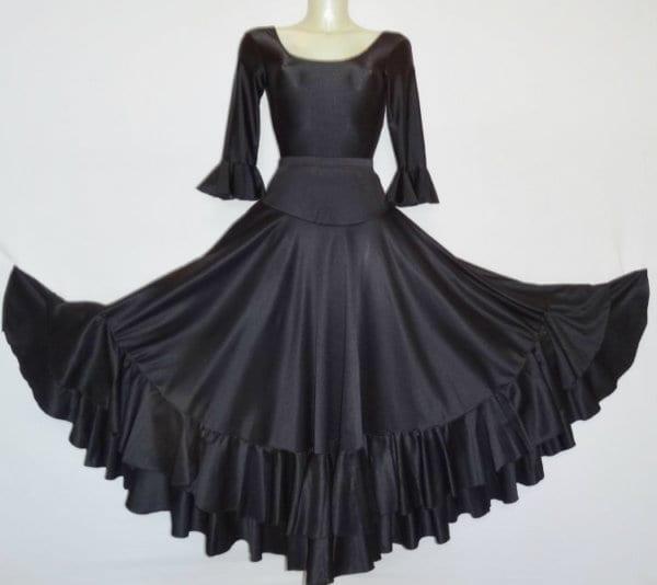 Flamenco lady skirt