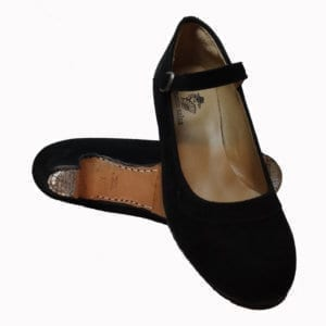 Flamenco profesional shoes in suede