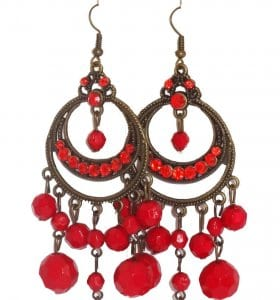 Flamenco earring