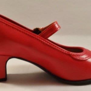 Flamenco shoe in red