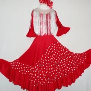 Flamenco children skirt