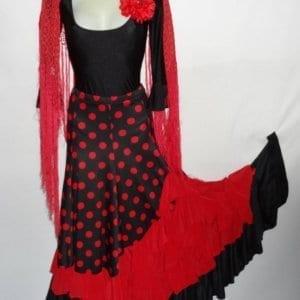 Sevillane skirt