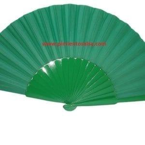 flamenco fan green