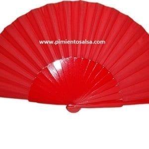 Flamenco red fan to dancing
