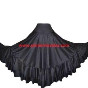 Flamenco skirt black/black