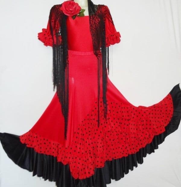 Lady flamenco skirt D271