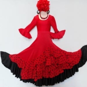 Children' s Flamenco skirt