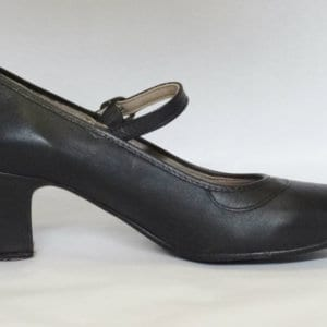 Flamenco shoes in leather