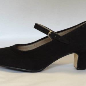 Flamenco shoes in suede