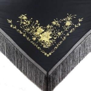 Flamenco shawl ,manton