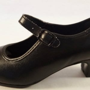Flamenco shoes in synthetic