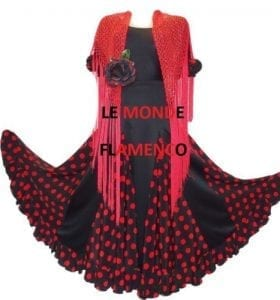 Mantilla shawl Flamenco