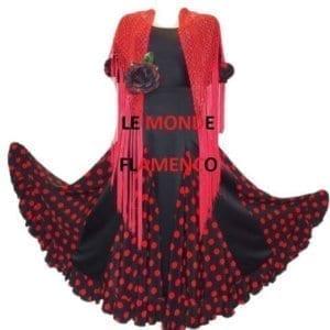 Mantilla shawl Flamenco