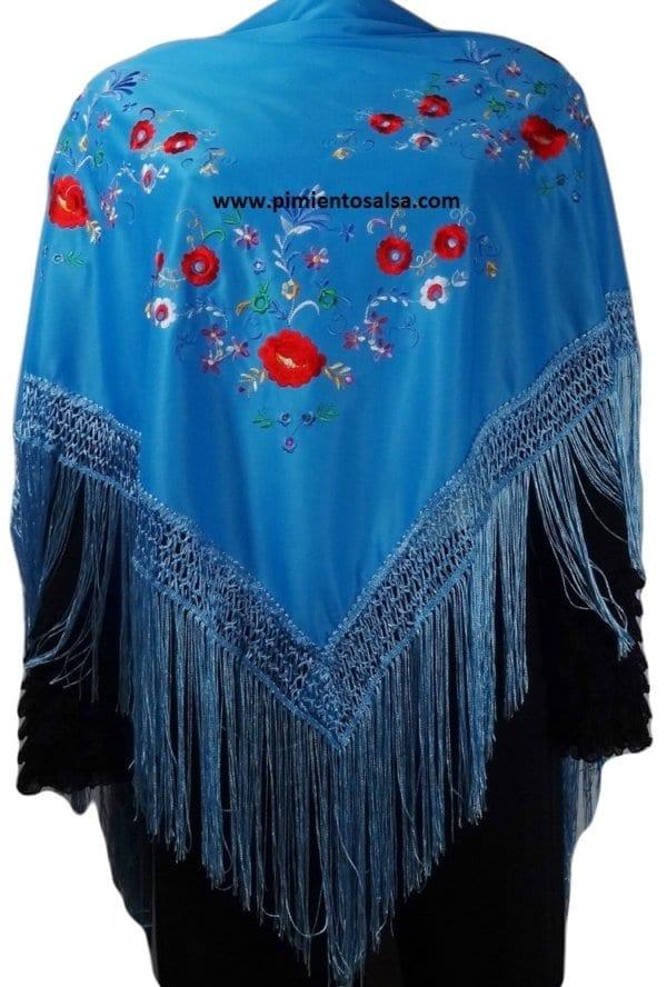 Flamenco shawl