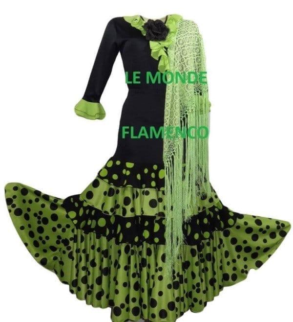 Lady Flamenco shawl