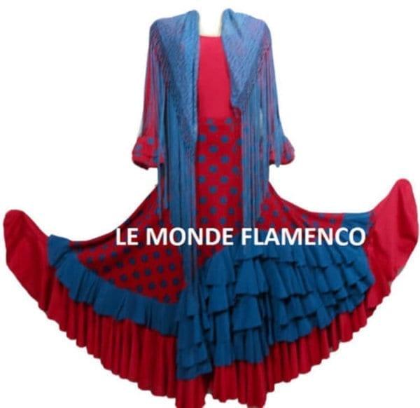Famenco skirt and shawl