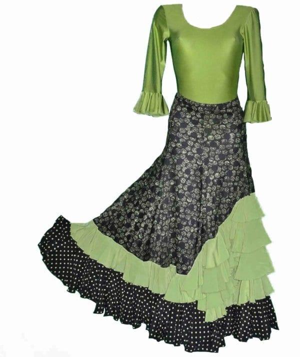 Flamenco skirt to official reception